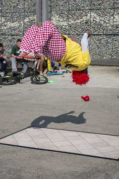 Teflon of YAK Dance Crew performing at Whitstable
