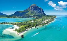 Mauritius    Located off the east coast of Africa this tiny island nation surrounded by water received the World leading Islands Destination award for the 3rd year in a row for its amazing beaches and Worlds Best Beach at the Word Travel Awards in 2012.