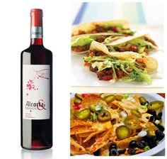 Alcorta & Friends tinto con cualquier plato mexicano, por ejemplo con unos nachos o unos burritos. Una cena o comida sencilla cargada de sabor, ¿quién se anima?