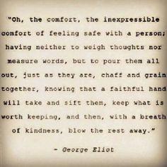 Comfort in true love