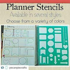 Check them out on Etsy. Link to shop in profile.  #plannerobsessed #plannercommunity #planneraddict #planning #plannerlove #planner #erincondrenlifeplanner #eclp #ecvertical #kikkik #kikkikplanner #filofax #filofaxlove #filofaxaddict #happyplanner #planmyday #plannernerd #stencil #biblejournaling #journal #filofaxing #filofaxpersonal #plannergoodies #plannergirl by pecanpiecrafts