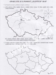 vlastivěda 5.ročník - Hledat Googlem Fifth Grade, Elementary Science, Geography, Homeschool, Crafts For Kids, Map, Activities, Education, Cards