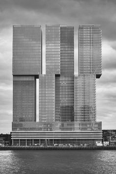 De Rotterdam, Rotterdam, The Netherlands, 2013 by OMA. Photograph from This Brutal World, a collection of images showcasing Brutalist architecture from around the world by graphic designer Peter Chadwick Oma Architecture, Beautiful Architecture, Contemporary Architecture, Interesting Buildings, Amazing Buildings, Vertical City, Brutalist Buildings, Colani, Rem Koolhaas