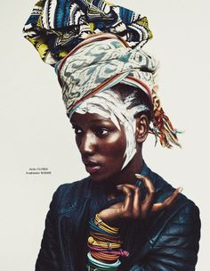 Herieth Paul by Boe Marion for Tush Summer 2013.