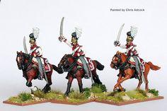 BAV 42 Dragoons charging 1805-11, Perry Miniatures