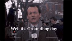 New party member! Tags: bill murray groundhog day groundhog