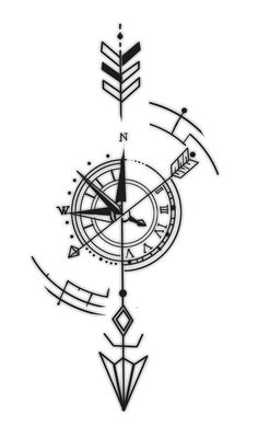 compass tattoo on back for women compass back tattoo for women + compass tattoo back women + compass tattoo on back for women Arrow Tattoos, Forearm Tattoos, Body Art Tattoos, Small Tattoos, Tattoos For Guys, Sleeve Tattoos, Tattoo Arm, Tatoos, Tattoo Sketches