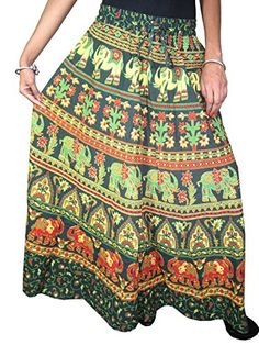 Designer Clothes, Shoes & Bags for Women Maxi Skirt Boho, Womens Maxi Skirts, Long Maxi Skirts, Sexy Skirt, Hippie Skirts, Boho Skirts, Beach Wrap Skirt, Indian Skirt, Bohemian Print