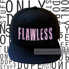 Flawless Beyonce Snapback I Woke Up Like This by OnlyDopeStuff, $18.00