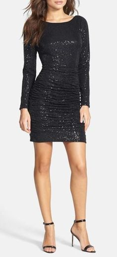 Stunning! Sequin Knit Dress