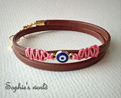 Sophie's World, Facebook, Bracelets, Leather, Handmade, Jewelry, Fashion, Jewels, Moda