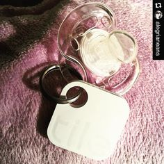 Pretty good parenting tip! #Repost @alegrianeans  Yup. This is happening. There's officially an electronic key finding device attached to my daughter's favorite pacifier. #CreativeParenting #IWillConquerMommyMemoryLoss #TileApp #tiledit  www.thetileapp.com