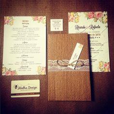 Papelaria completa da @abelhadesign_debora: rústico romântico ecológico e flores que representam muita elegância. Lindo né? Ela faz muitos modelos incríveis de qualidade e preço justo.  Orçamentos  Whatsapp: (11) 95450-2962 contato@abelhadesign.com ou no instagram @abelhadesign_debora Eles entregam em todo Brasil!  #abelhadesign #convitedecasamento #invitationwedding #wedding #casamento #ceub #casaréumbarato #convite #papelsemente #convitecológico #ecology #primavera #conviterústico…