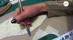 Calzado artesanal Parte 4- Obtén la plantilla interna y comienza a dar ventajas a las piezas. #calzado #DIY