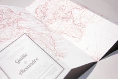 Let's travel all together ! - wedding invitation by Allons-y Alonso