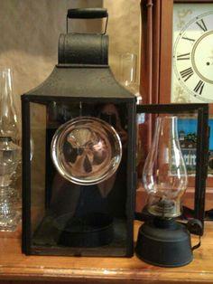 Edward Miller early hanging tin lantern box