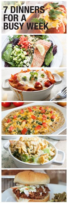 Easy healthy dinners for your busy family
