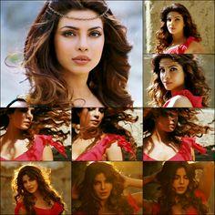 Priyanka Chopra in Jiya Hairstyles Haircuts, Wedding Hairstyles, Glamour World, Actress Pics, Beautiful Bollywood Actress, Bollywood Stars, Priyanka Chopra, Bollywood Celebrities, Deepika Padukone