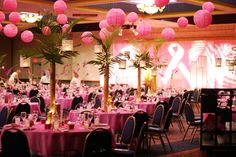 Use paper lanterns instead of balloons for a party or luncheon.