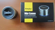 EasyAcc Mini-Cannon Portable Bluetooth Speaker Review