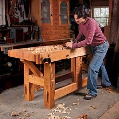 The workbench is the heart of your workshop, so it's important that your workbench fits your needs. Here are some great workbench designs for all skill levels.
