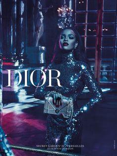 """Rihanna Dior Campaign Images - Rihanna """"Secret Garden"""""""