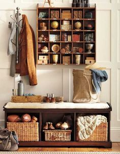Build a Cubby Organizer Pottery Barn Inspired Knock-Off by Between Naps on the Porch. Description from uk.pinterest.com. I searched for this on bing.com/images
