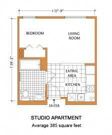Studio Typical Floor Plan Other Units May Vary Back Future Apartment Plans