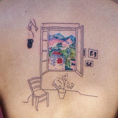 Dainty Tattoos, Pretty Tattoos, Mini Tattoos, Body Art Tattoos, New Tattoos, Small Tattoos, Cool Tattoos, Basic Tattoos, Matisse Tattoo