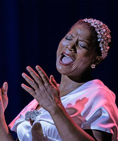 """Emmy- and Oscar-nominated actress and hip-hop legend Queen Latifah plays Bessie Smith in HBO's biopic """"Bessie."""""""