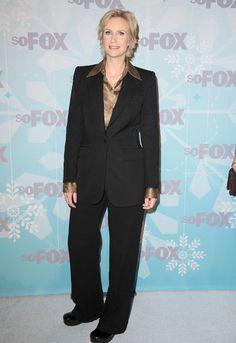 I love that Jane Lynch wears Danskos on the Red Carpet.