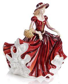 ROYAL DOULTON PORCELAIN FIGURINE #PorcelainFigurine