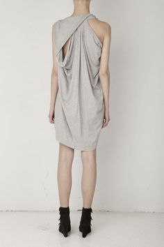 grey. comfortable. small twists from the usual. everything i love.