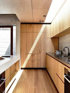 concrete and timber kitchen | schulberg demkiw architects