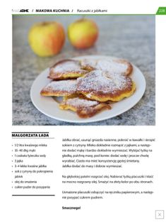 """Właśnie czytam """"Racuszki z jabłkami"""" , autor: Małgorzata Ładaw magazynie iMagazine.  Możesz pobrać aplikacje stąd: http://itunes.apple.com/app/id471359317"""