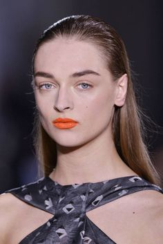 Spring 2014 Makeup Trend: Orange Lips