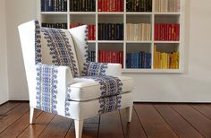 Buy Ethan Allen's Parker Chair or browse other products in Chairs & Chaises. Living Room Chairs, Living Room Furniture, Living Room Decor, Living Rooms, Custom Furniture, Furniture Design, Palestinian Embroidery, Furniture Upholstery, Furniture Chairs