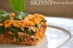 Skinny State of Mind: Mexican Rice Casserole