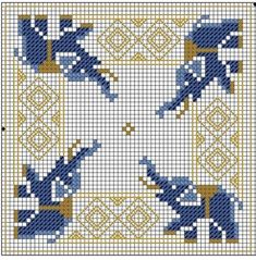 Thrilling Designing Your Own Cross Stitch Embroidery Patterns Ideas. Exhilarating Designing Your Own Cross Stitch Embroidery Patterns Ideas. Biscornu Cross Stitch, Cross Stitch Charts, Cross Stitch Designs, Cross Stitch Embroidery, Embroidery Patterns, Hand Embroidery, Cross Stitch Patterns, Blackwork, Elephant Cross Stitch