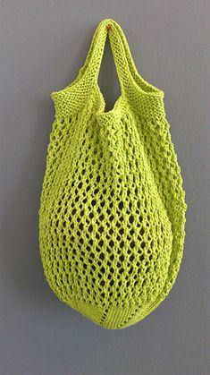 Ravelry: Farmer's Market/Produce Bag pattern by Monica Dewart Knitting Projects, Knitting Patterns, Bag Patterns, Plastic Grocery Bags, Produce Bags, Weird Shapes, Circular Needles, Stockinette, Womens Purses