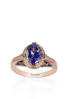Le Vian® 14k Strawberry Gold® Blueberry Tanzanite™