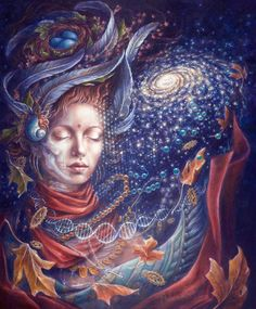 Modern Esoteric Art And Symbolism - Autumn Skye Morrison - Remembering Eternity