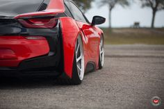#BMW #i8 #Coupe #eDrive #VOSSENWheels #HotRed #MPerformance #xDrive #SheerDrivingPleasure #Green #City #Tuning #Electric #Burn #Blue #Provocative #Eyes #Sexy #Hot #Badass #Drift #Live #Life #Love #Follow #Your #Heart #BMWLife