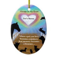 Rainbow Bridge Pets Ornaments