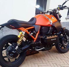 189 vind-ik-leuks, 1 reacties - Cafe' Racer ITALIA (@caferacer_italia) op Instagram: '#BMW #k100 by @gessimotociclette - #caferacerItalia #caferacer #motocycle #instapic #Instamood…'