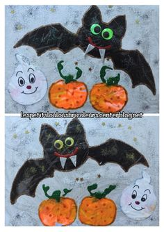 Bricolage Halloween Momie Collage Enfant Id E Brico Pinterest Bricolage Halloween