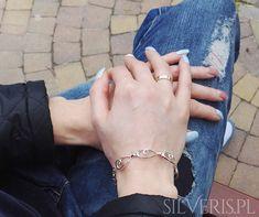Srebrna bransoletka Listki - polska produkcja. Bracelets, Jewelry, Fashion, Moda, Jewlery, Jewerly, Fashion Styles, Schmuck, Jewels