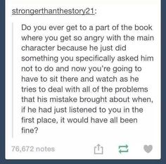 All the time...: Good Books, I Love Books, Books To Read, My Books, Book Quotes, Book Memes, Main Character, Reader Problems, Nerd Problems
