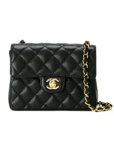 Chanel Vintage small quilted crossbody bag