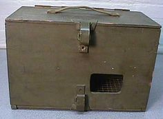 interBUG Homing Pigeon: Messaging With Pigeons: Photos: World War II pigeon carrier PG-102/CB